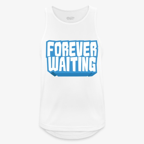 Forever Waiting - Men's Breathable Tank Top