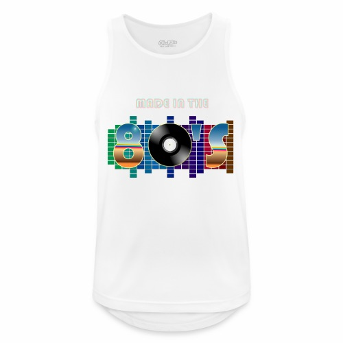 Made in the 80's - Men's Breathable Tank Top