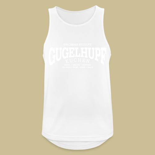 Gugelhupf (white) - Männer Tank Top atmungsaktiv