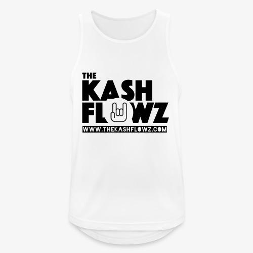 The Kash Flowz Official Web Site Black - Débardeur respirant Homme
