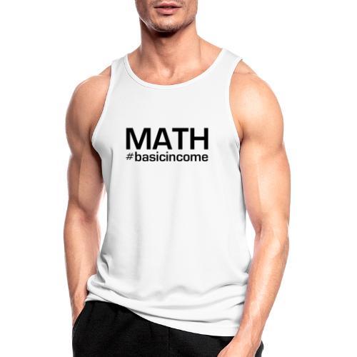math-black - Mannen tanktop ademend actief