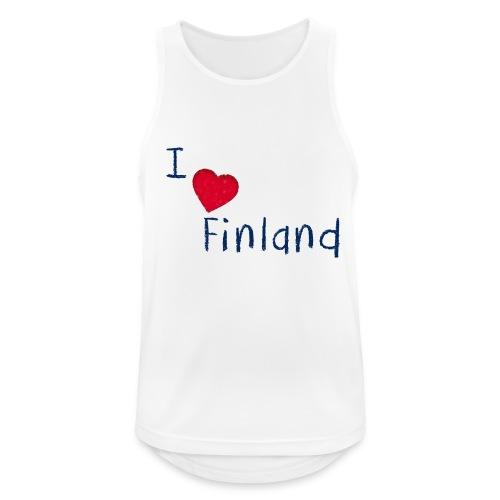 I Love Finland - Miesten tekninen tankkitoppi