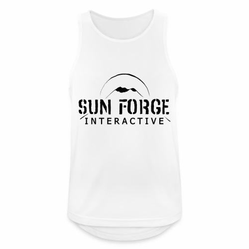 Sunforge Interactive - Camiseta sin mangas hombre transpirable