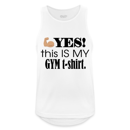 Gym tshirt - Herre tanktop åndbar