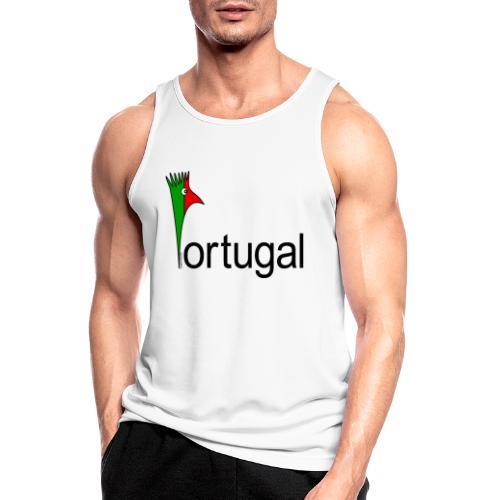 Galoloco - Portugal - Männer Tank Top atmungsaktiv