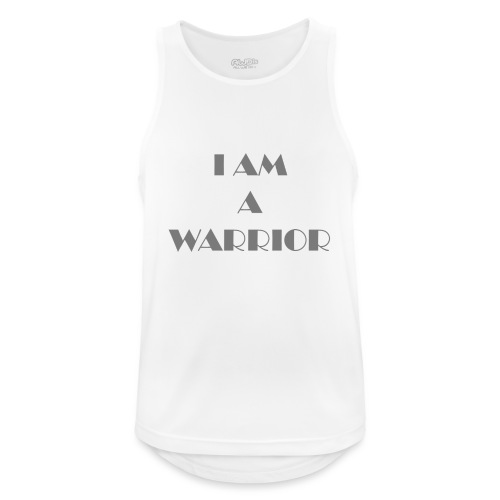 I am a warrior - Men's Breathable Tank Top