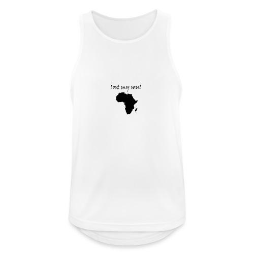 lost my soul in africa - Männer Tank Top atmungsaktiv