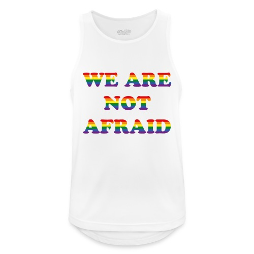 We are not afraid - Men's Breathable Tank Top