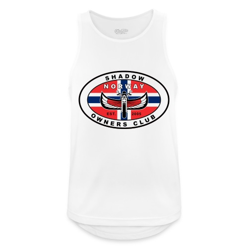 SHOC Norway Patch jpg - Pustende singlet for menn