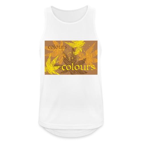 autumn theme - Tank top męski oddychający