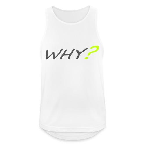 WHY? - Andningsaktiv tanktopp herr