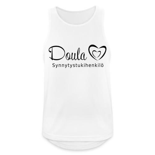 doula sydämet synnytystukihenkilö - Miesten tekninen tankkitoppi