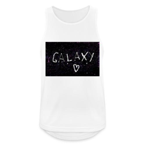 galaxy - Männer Tank Top atmungsaktiv