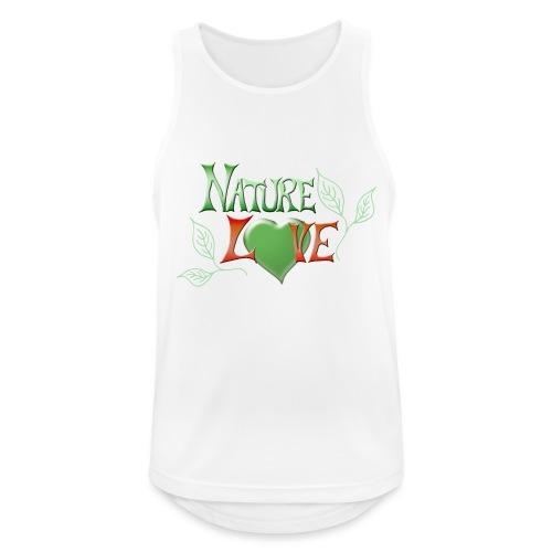 Nature Love - Männer Tank Top atmungsaktiv