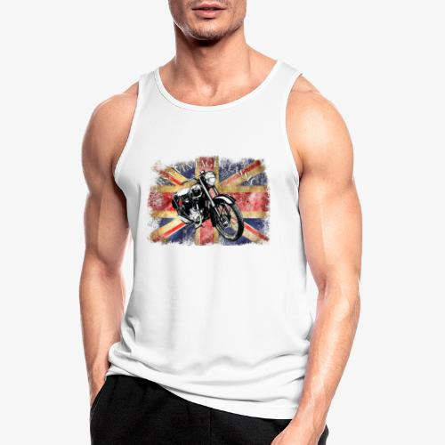 Vintage famous Brittish BSA motorcycle icon - Men's Breathable Tank Top