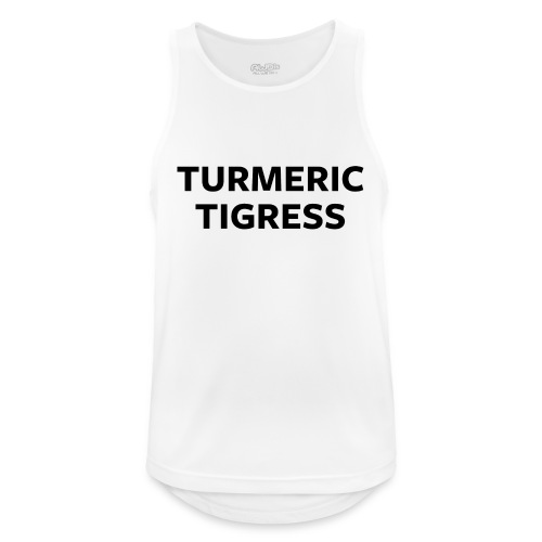 Turmeric Tigress - Men's Breathable Tank Top