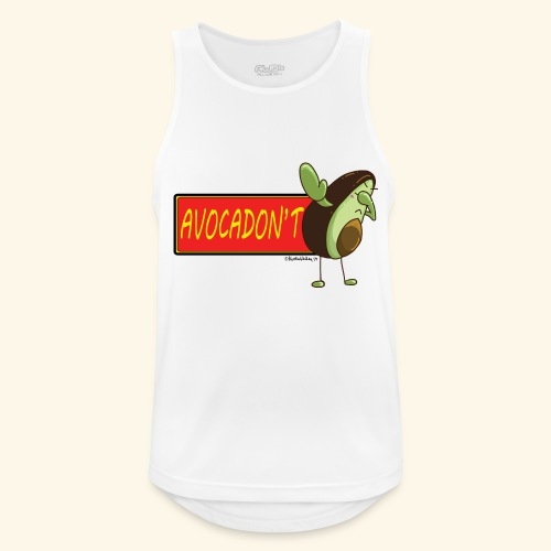 AvocaDON'T - Men's Breathable Tank Top