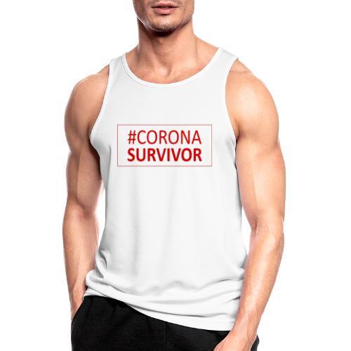 Corona Virus Survivor - Men's Breathable Tank Top
