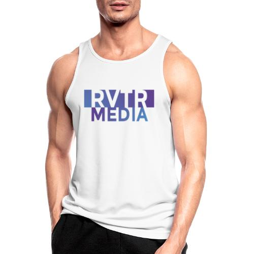 RVTR media NEW Design - Männer Tank Top atmungsaktiv