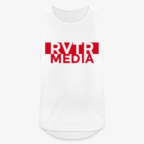 RVTR media red - Männer Tank Top atmungsaktiv