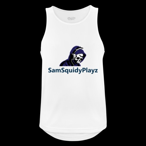 SamSquidyplayz skeleton - Men's Breathable Tank Top