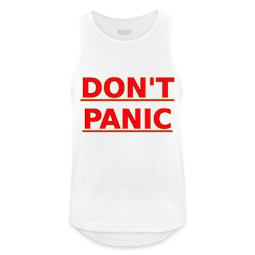 DON T PANIC - Men's Breathable Tank Top