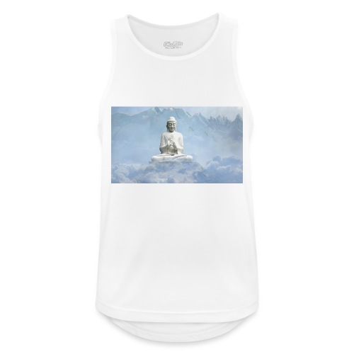 Buddha with the sky 3154857 - Men's Breathable Tank Top