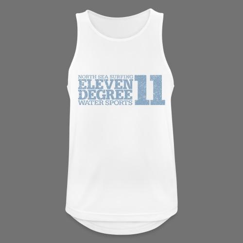 eleven degree light blue (oldstyle) - Men's Breathable Tank Top