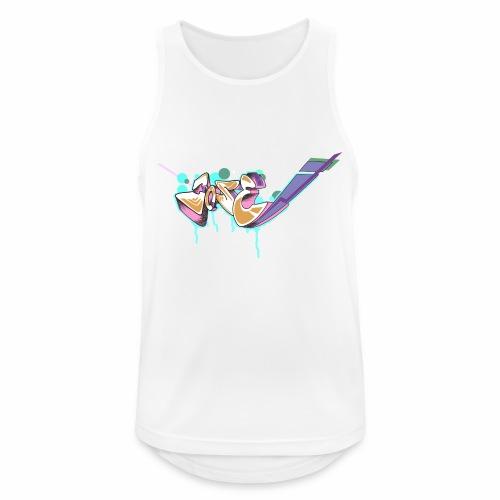 Grafitty - Camiseta sin mangas hombre transpirable