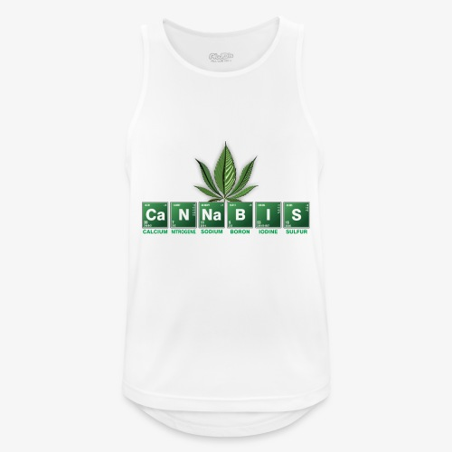 cannabis bad - Männer Tank Top atmungsaktiv