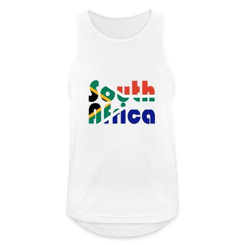 South Africa - Männer Tank Top atmungsaktiv