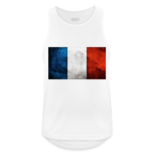 France Flag - Men's Breathable Tank Top