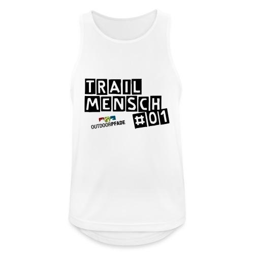 TrailMensch#01m - Männer Tank Top atmungsaktiv