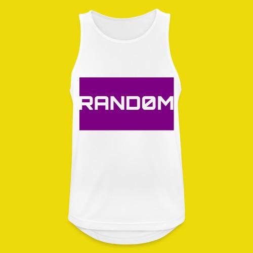 Random Logo - Men's Breathable Tank Top