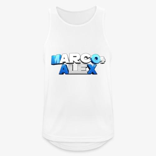 Logo Marco+Alex - Canotta da uomo traspirante