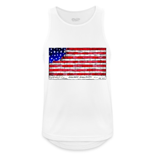 Good Night Human Rights - Men's Breathable Tank Top