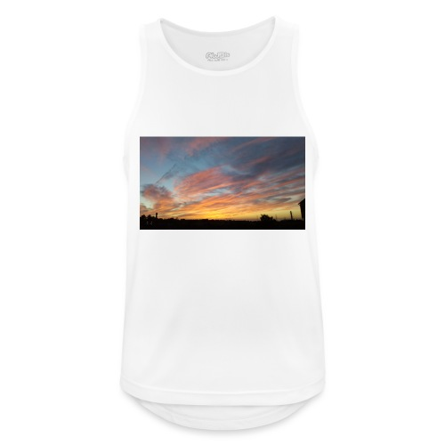 Red Sky At Night - Men's Breathable Tank Top