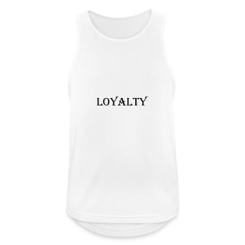 Loyalty (OLD) - Canotta da uomo traspirante