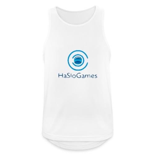 HasloGames Producten officieel logo - Mannen tanktop ademend