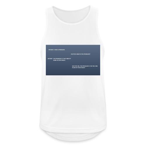 Running joke t-shirt - Men's Breathable Tank Top