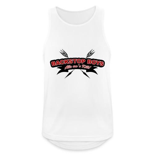 Backstop Boys Logo 02 - Männer Tank Top atmungsaktiv