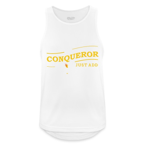 Instant Conqueror, Just Add Dragons - Men's Breathable Tank Top