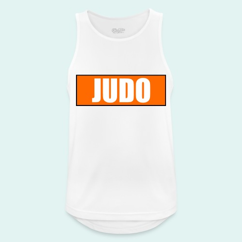 Judo Orange 5. Kyu - Männer Tank Top atmungsaktiv