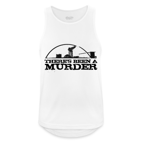 There s Been A Murder - Men's Breathable Tank Top
