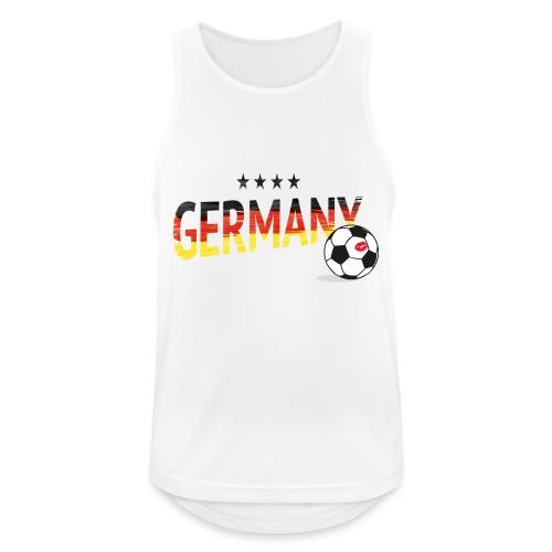 Fußball Weltmeister Fan Deutschland - Männer Tank Top atmungsaktiv