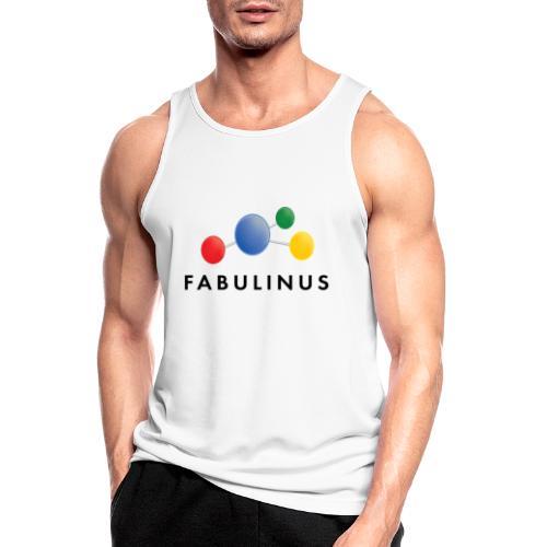 Fabulinus logo dubbelzijdig - Mannen tanktop ademend actief