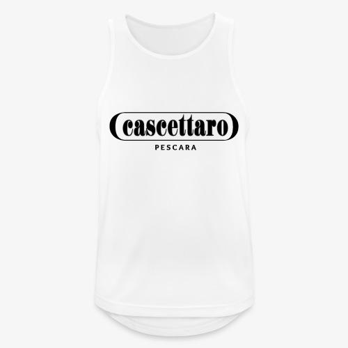 Cascettaro - Canotta da uomo traspirante