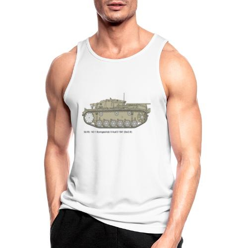 Stug III Ausf D. - Männer Tank Top atmungsaktiv