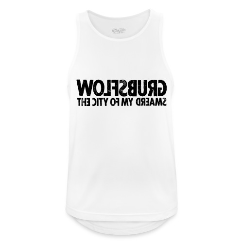 Wolfsburg (black_oldstyle) - Männer Tank Top atmungsaktiv