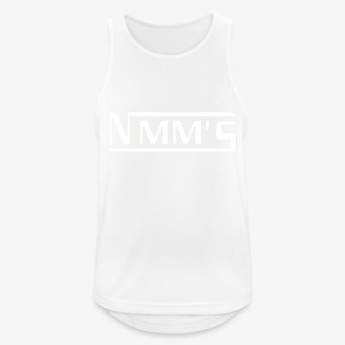 logo white - Camiseta sin mangas hombre transpirable